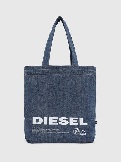 Diesel - F-THISBAG SHOPPER NS, Blanc/Bleu - Cabas et Sacs d'Épaule - Image 3