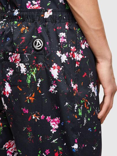 Diesel - P-TOLLER-FLOWER, Noir - Pantalons - Image 4