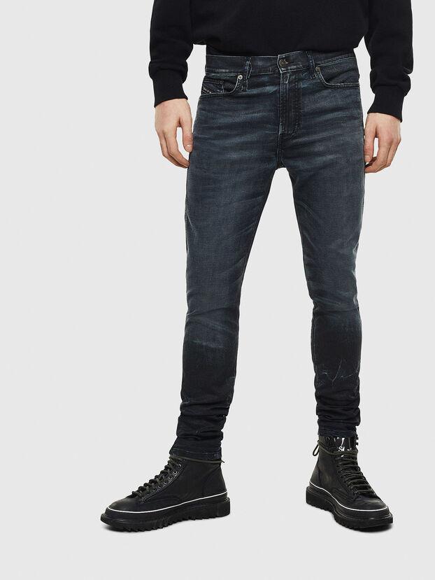 D-Reeft JoggJeans 069MD, Bleu Foncé - Jeans