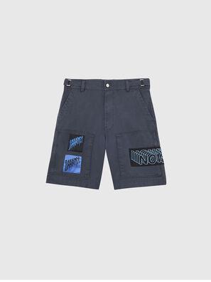 P-DUGA-SHO, Gris foncé - Shorts