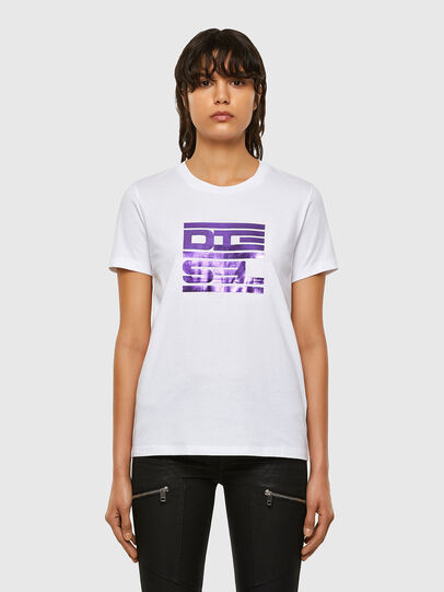 Diesel - T-SILY-K5, Blanc - T-Shirts - Image 1