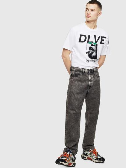 Diesel - T-JUST-T21, Blanc - T-Shirts - Image 7