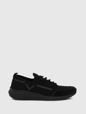 S-KBY STRIPE W, Noir - Baskets