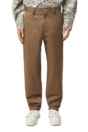 Pantalon en sergé stretch brossé