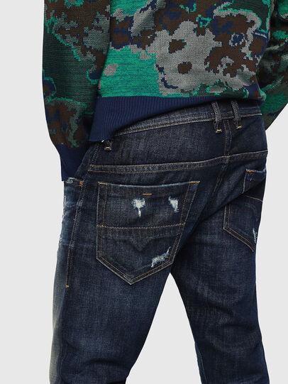 Diesel - Thommer 0890W, Bleu Foncé - Jeans - Image 4