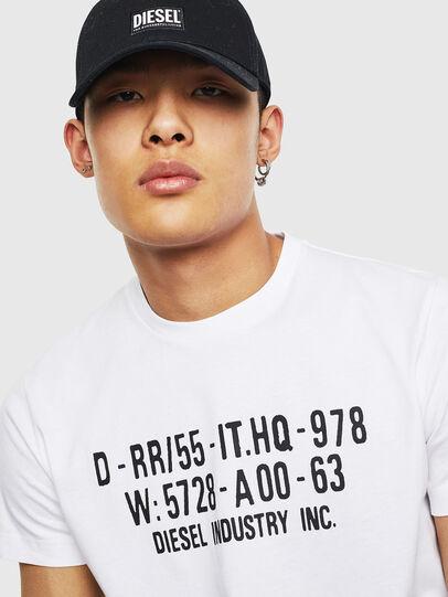 Diesel - T-DIEGO-S2, Blanc - T-Shirts - Image 3