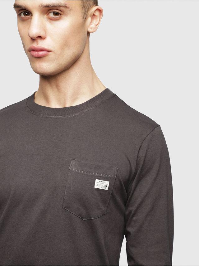 Diesel - UMLT-JUSTIN, Gris foncé - T-Shirts - Image 3