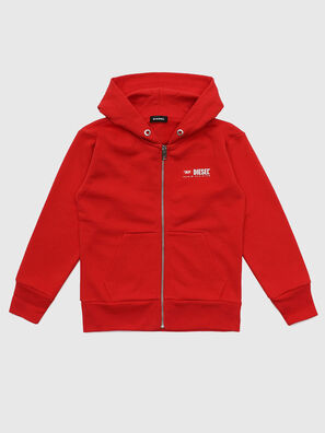 SALBYZIP OVER, Rouge - Pull Cotton