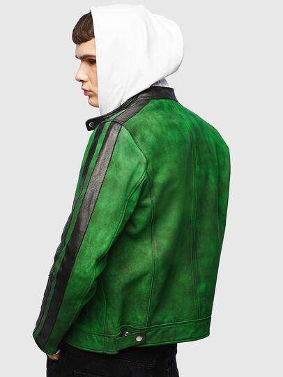 Diesel - L-BOY-A, Vert - Vestes de cuir - Image 2