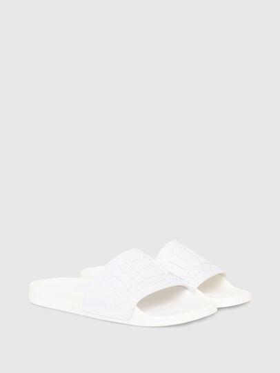 Diesel - SA-MAYEMI W, Blanc - Claquettes - Image 2