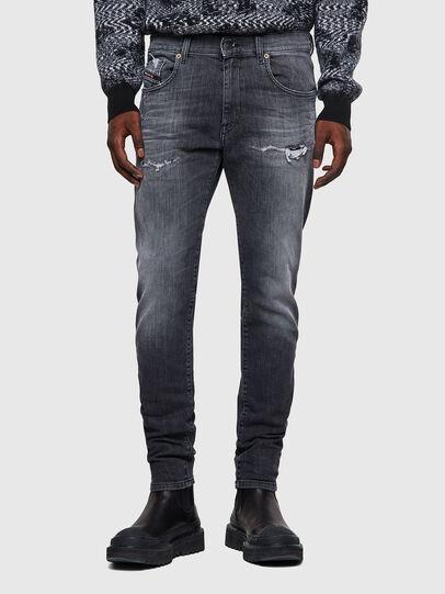 Diesel - D-Strukt JoggJeans® 009QT, Noir/Gris foncé - Jeans - Image 1