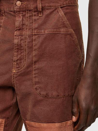 Diesel - D-Franky JoggJeans® 0DDAW, Marron - Jeans - Image 5