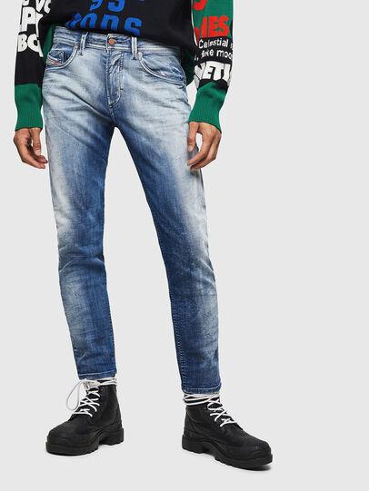 Diesel - Thommer JoggJeans 0870N, Bleu moyen - Jeans - Image 1
