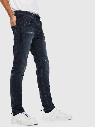 Diesel - Krooley JoggJeans 069KB, Bleu Foncé - Jeans - Image 4