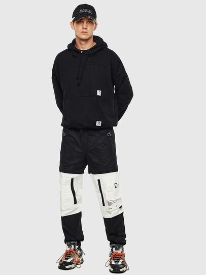 Diesel - P-MELTY, Noir/Blanc - Pantalons - Image 7