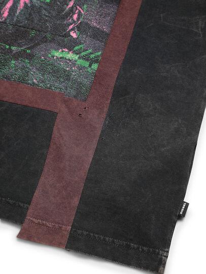 Diesel - D-FRANK&STEIN, Rouge/Noir - T-Shirts - Image 5