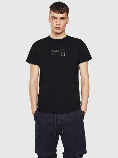 Diesel - T-DIEGO-S5, Noir - T-Shirts - Image 1