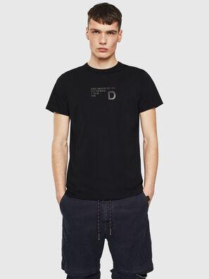 T-DIEGO-S5, Noir - T-Shirts