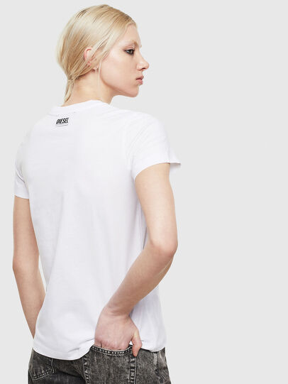 Diesel - T-SILY-S5, Blanc - T-Shirts - Image 2