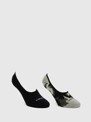 SKM-HIDEPAT-TWOPACK, Gris/Noir - Chaussettes