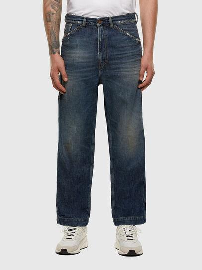 Diesel - D-Franky 009EW, Bleu Foncé - Jeans - Image 1