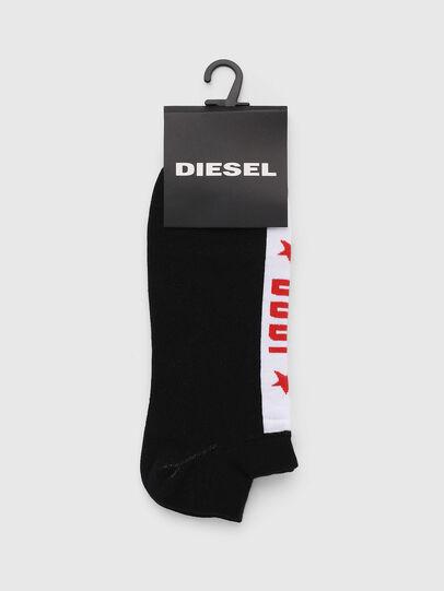 Diesel - SKM-GOST, Noir - Chaussettes basses - Image 2