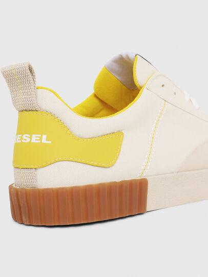 Diesel - S-BULLY LC, Blanc/Jaune - Baskets - Image 4