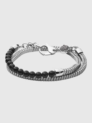 DX1239, Gris argenté/Noir - Bracelets
