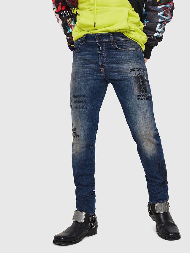 Diesel - Buster 087AW, Bleu Foncé - Jeans - Image 1
