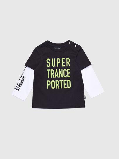 Diesel - TANCEB, Noir/Blanc - T-shirts et Hauts - Image 1