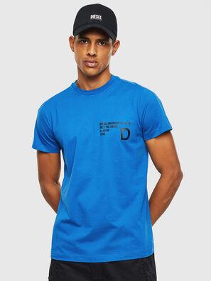 T-HOVER, Bleu - T-Shirts