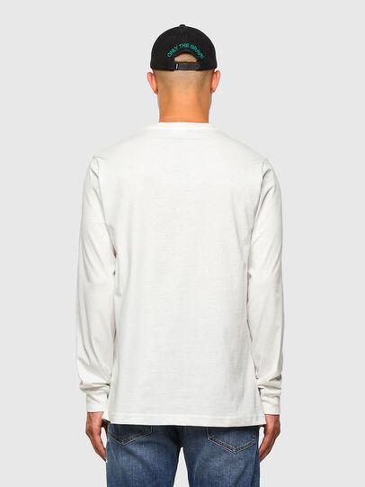 Diesel - T-JUST-LS-MOHI, Blanc - T-Shirts - Image 5