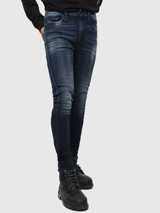 D-Istort 0098R, Bleu Foncé - Jeans
