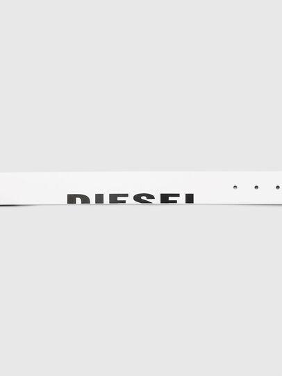 Diesel - B-DSL, Blanc - Ceintures - Image 4