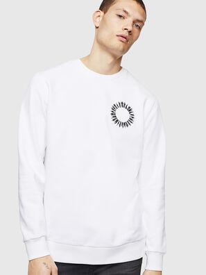 S-GIR-A3, Blanc - Pull Cotton