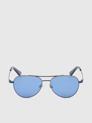 DL0291, Bleu/Gris - Kid Lunettes