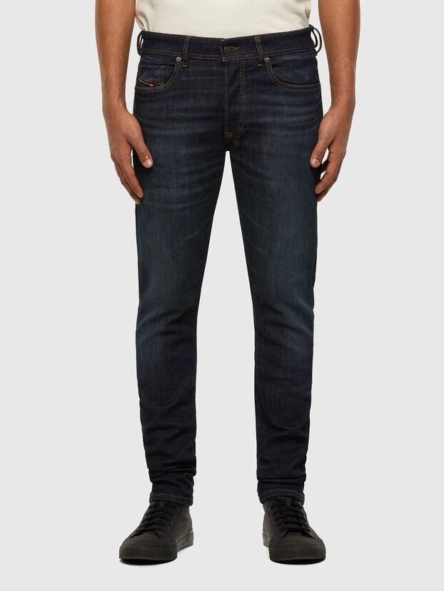 Sleenker 009DI, Bleu Foncé - Jeans