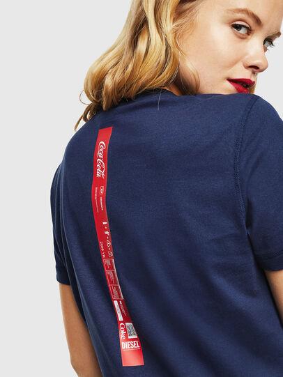 Diesel - CC-T-DIEGO-COLA, Bleu Foncé - T-Shirts - Image 6