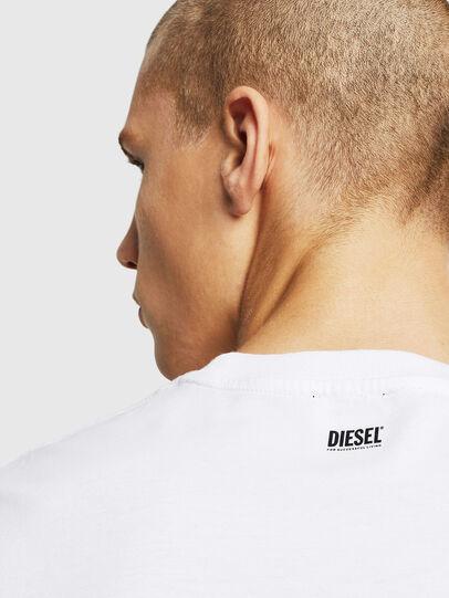 Diesel - T-DIAMANTIK-NEW, Blanc - T-Shirts - Image 3