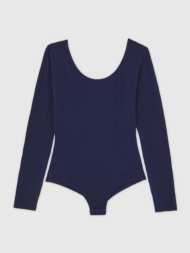 UFBY-BODY-LS, Bleu Foncé - Bodys