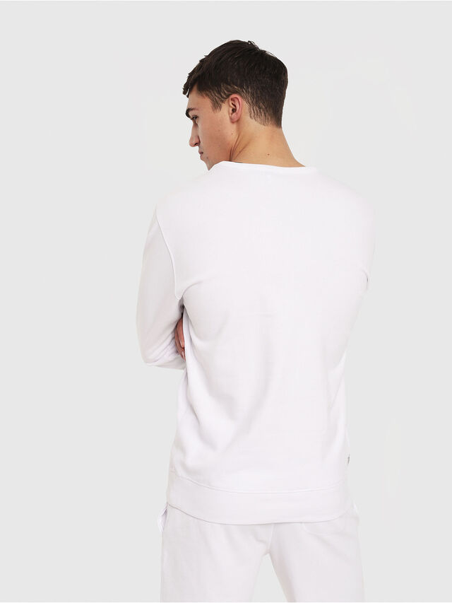 Diesel - UMLT-WILLY, Blanc - Pull Cotton - Image 2