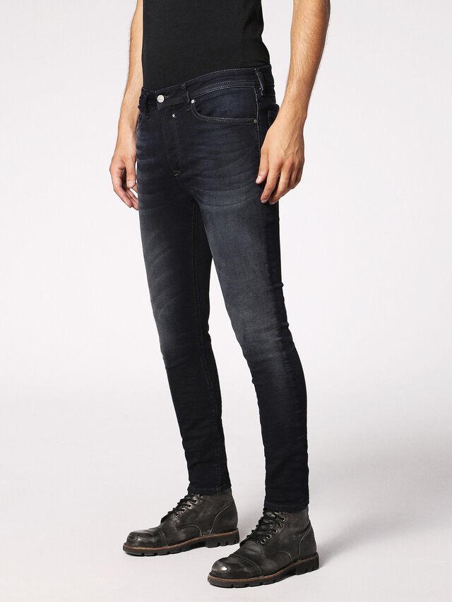Diesel - Spender JoggJeans 0686F, Bleu Foncé - Jeans - Image 5