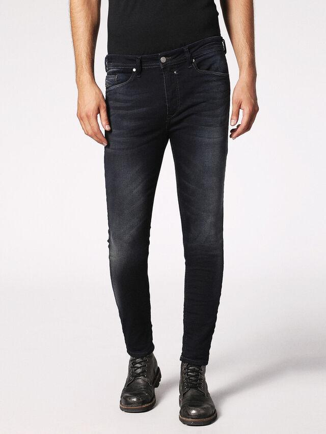 Diesel - Spender JoggJeans 0686F, Bleu Foncé - Jeans - Image 1