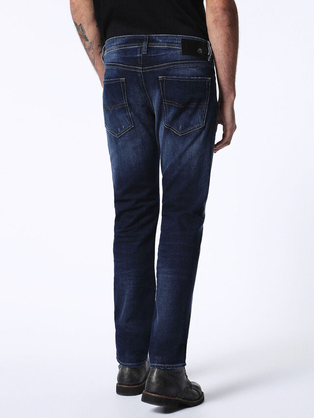 Diesel - Buster 0860L, Bleu Foncé - Jeans - Image 3