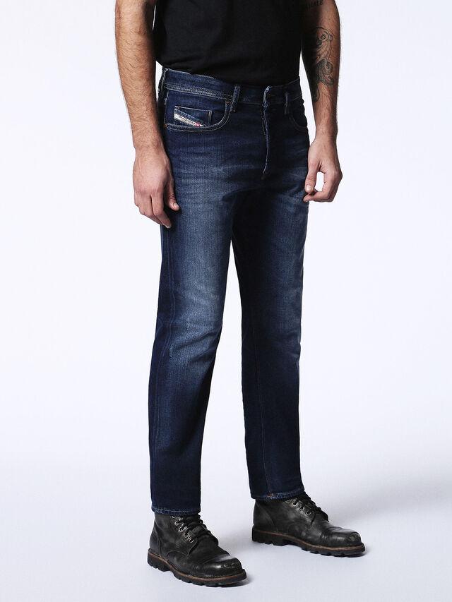 Diesel - Buster 0860L, Bleu Foncé - Jeans - Image 6