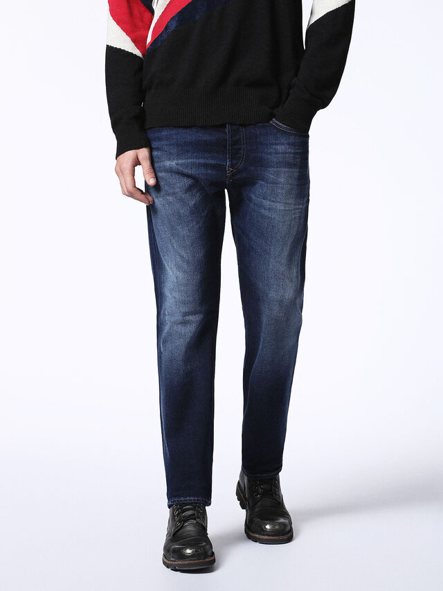 Diesel - Buster 0860L, Bleu Foncé - Jeans - Image 1