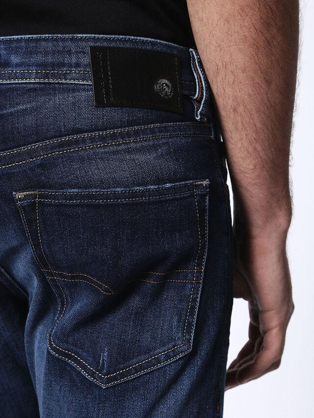 Diesel - Buster 0860L, Bleu Foncé - Jeans - Image 8