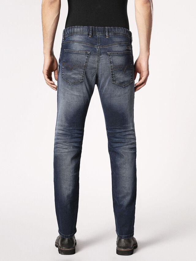 Diesel - Waykee JoggJeans 0683Y, Bleu Foncé - Jeans - Image 3