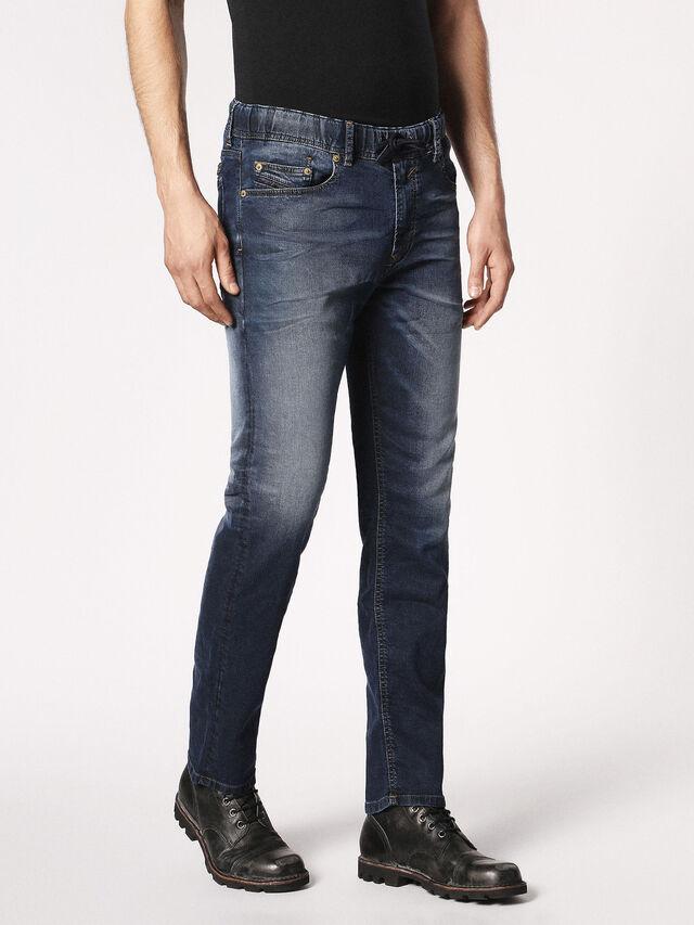 Diesel - Waykee JoggJeans 0683Y, Bleu Foncé - Jeans - Image 6