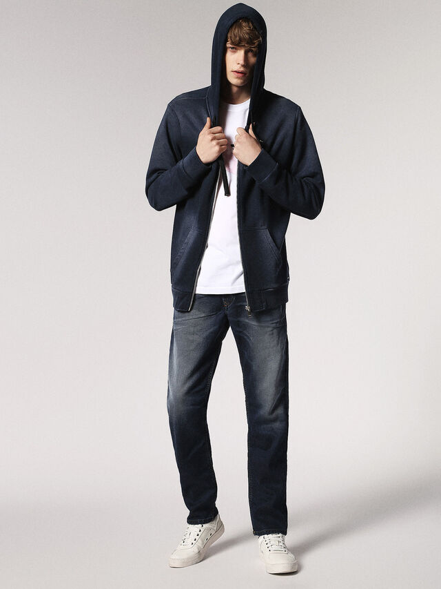 Diesel - Waykee JoggJeans 0683Y, Bleu Foncé - Jeans - Image 5